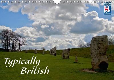 Typically British From a German Point of View (Wall Calendar 2018 DIN A4 Landscape)