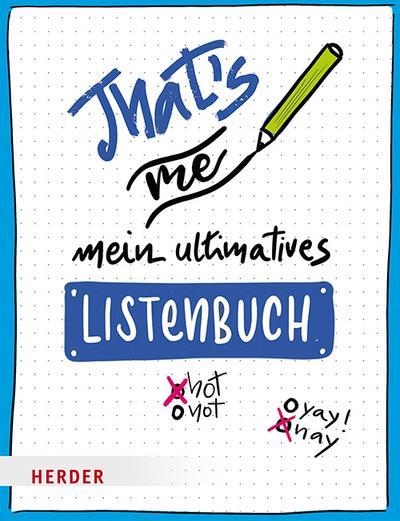 That's me – Mein ultimatives Listenbuch