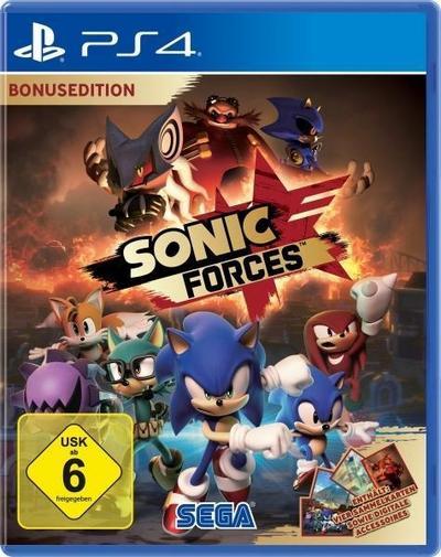 Sonic Forces Bonus Edition (PlayStation PS4)
