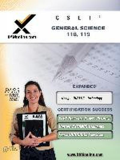 Cset General Science 118, 119 Teacher Certification Test Prep Study Guide: Cset General Science