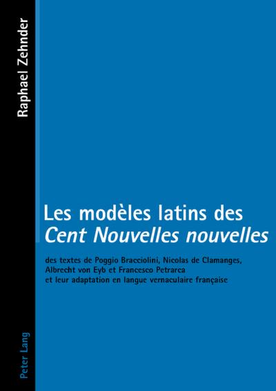 Les modèles latins des Cent Nouvelles nouvelles