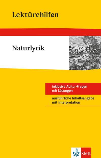 Klett Lektürehilfen - Naturlyrik