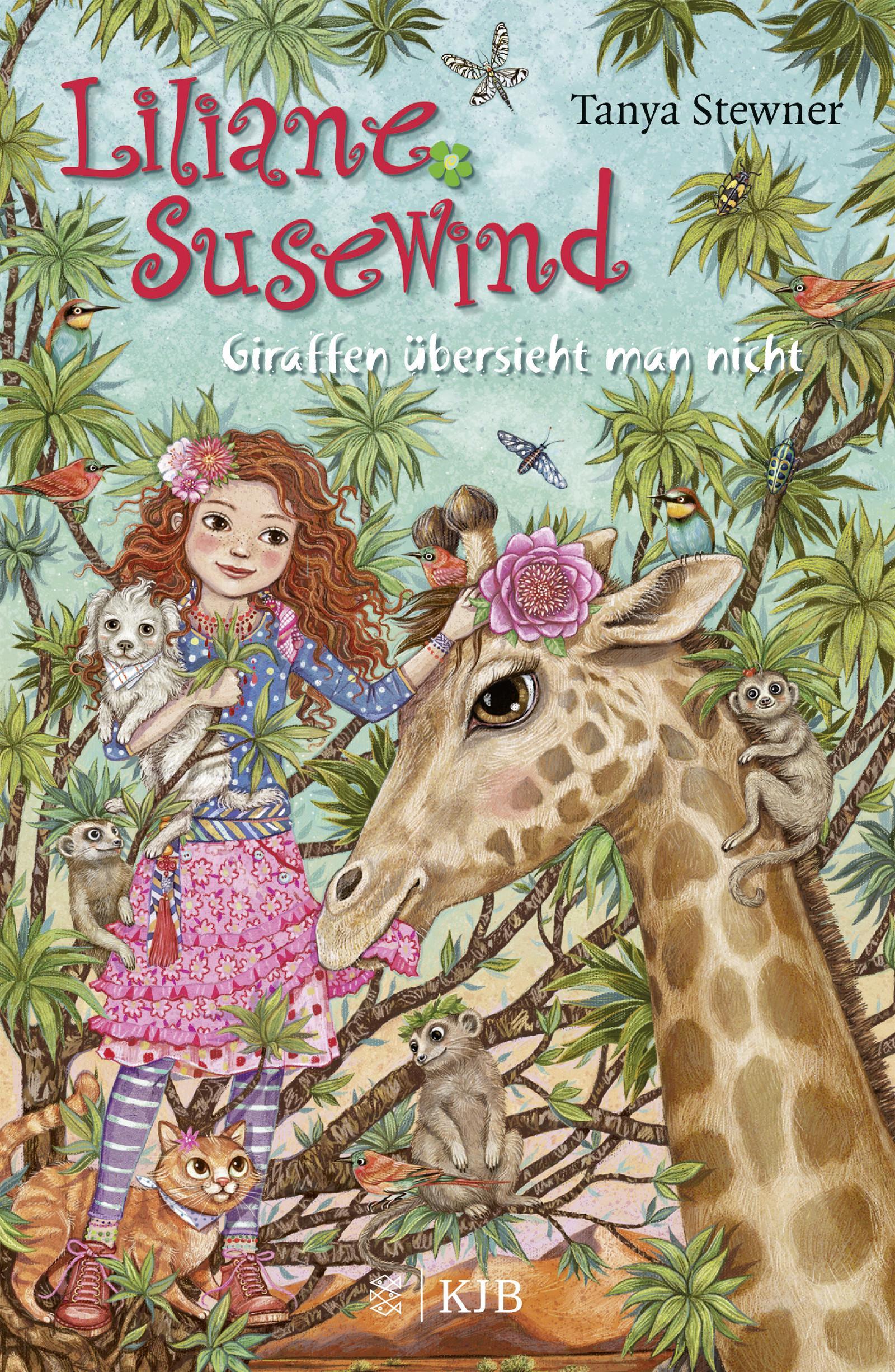 Liliane Susewind - Giraffen übersieht man nicht Tanya Stewner