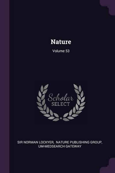 Nature; Volume 53