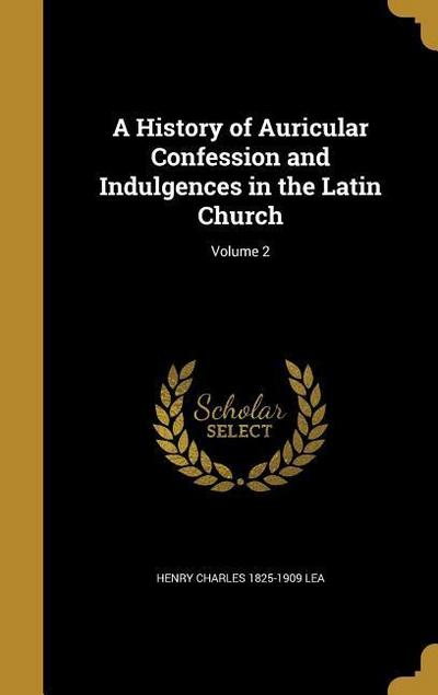 HIST OF AURICULAR CONFESSION &