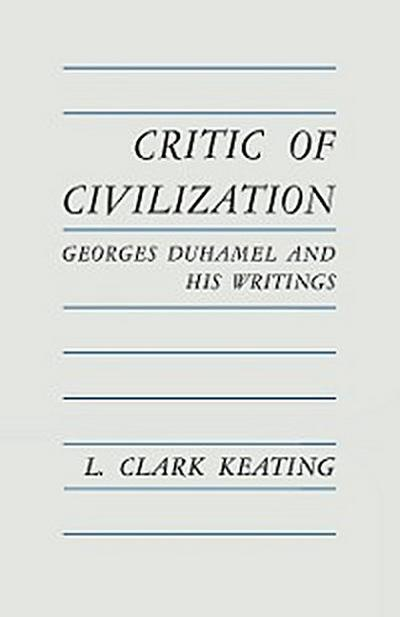 Critic of Civilization