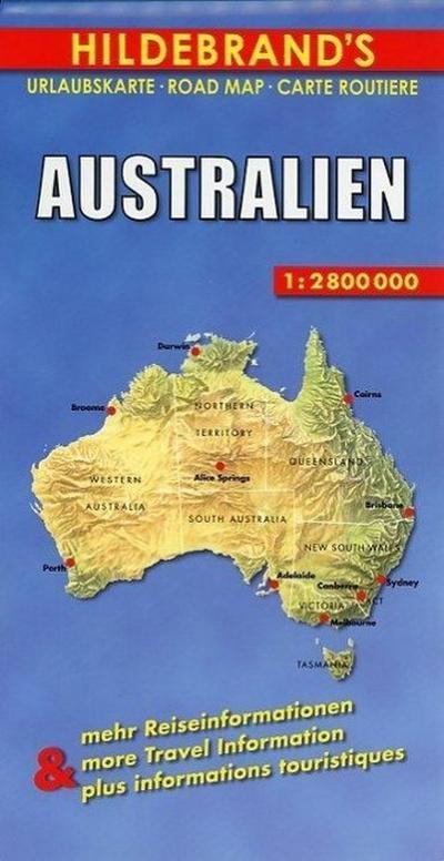 Australien 1 : 2 800 000