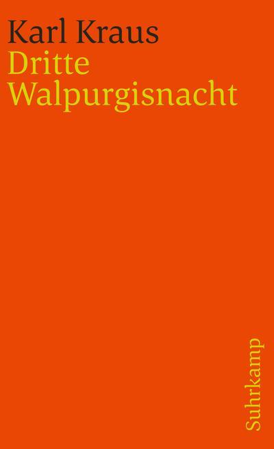 Dritte Walpurgisnacht