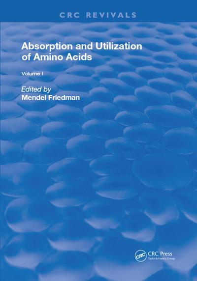 Absorption and Utilization of Amino Acids