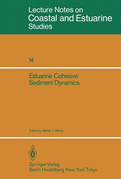 Estuarine Cohesive Sediment Dynamics