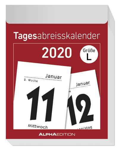 Tagesabreißkalender L 2020