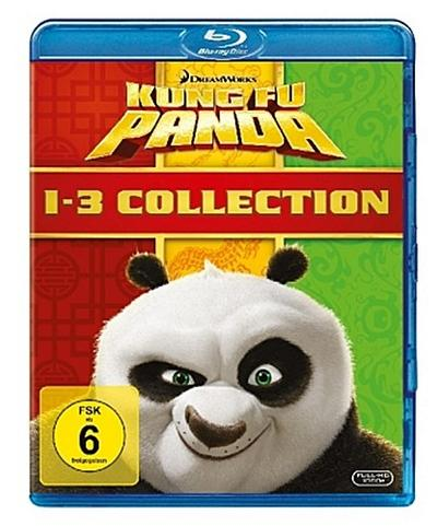 Kung Fu Panda 1-3 Collection Bluray Box