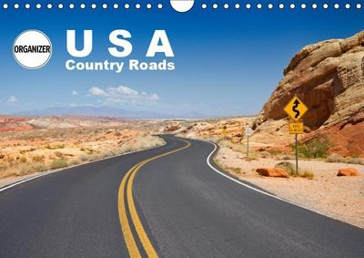 USA Country Roads (Wall Calendar 2019 DIN A4 Landscape)