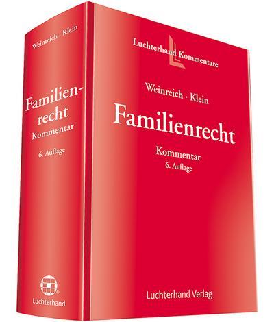 Familienrecht (FamR) Kommentar