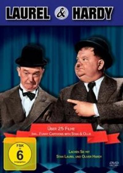 Die Laurel & Hardy Box (20 Filme+Bonus)