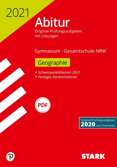 STARK Abiturprüfung NRW 2021 - Geographie GK/LK