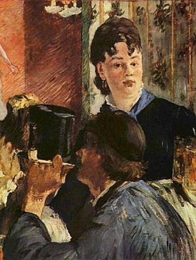 Edouard Manet - Kellnerin - 200 Teile (Puzzle)