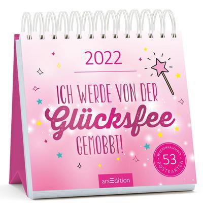 Postkartenkalender Ich werde von der Glücksfee gemobbt! 2022