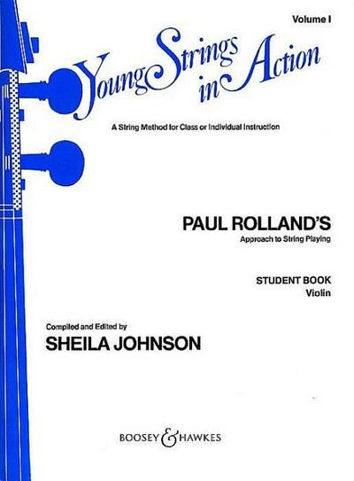 Young Strings in Action vol.1for violin, student book