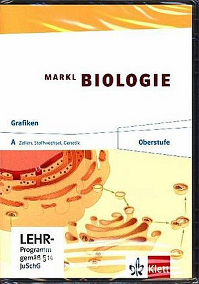 Markl Biologie, Oberstufe 11./12. Schuljahr, Grafik-CD-ROM. Tl.A