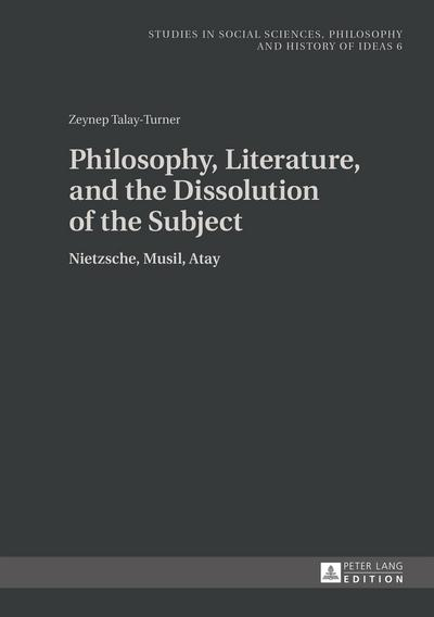 Philosophy, Literature, and the Dissolution of the Subject
