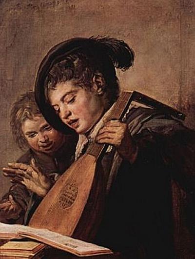Frans Hals - Zwei musizierende Knaben - 200 Teile (Puzzle)