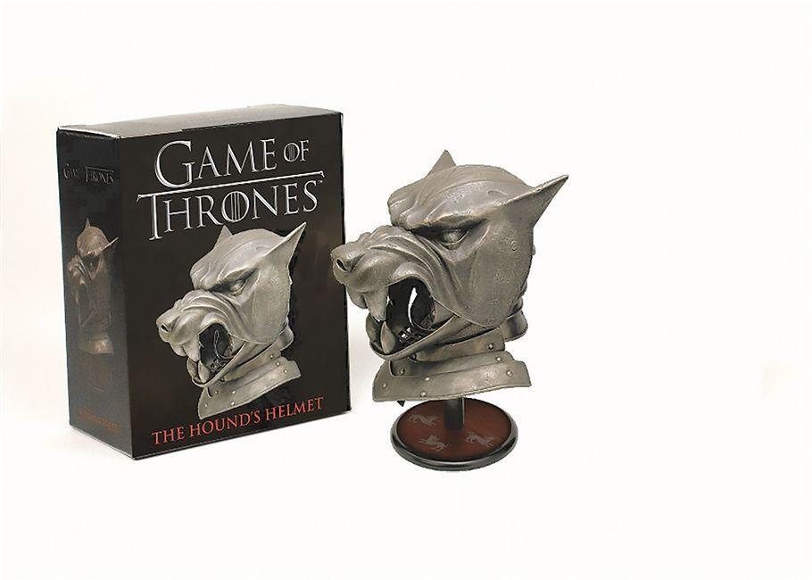 Game of Thrones: The Hound's Helmet. Book and Toy