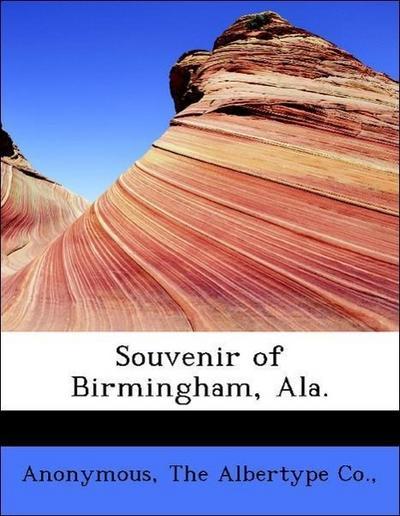 Souvenir of Birmingham, Ala.