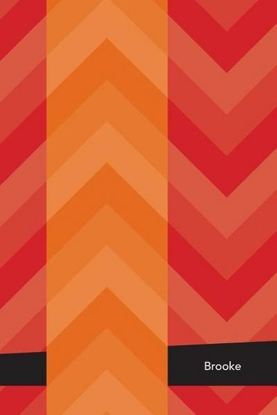 Etchbooks Brooke, Chevron, College Rule, 6 X 9', 100 Pages