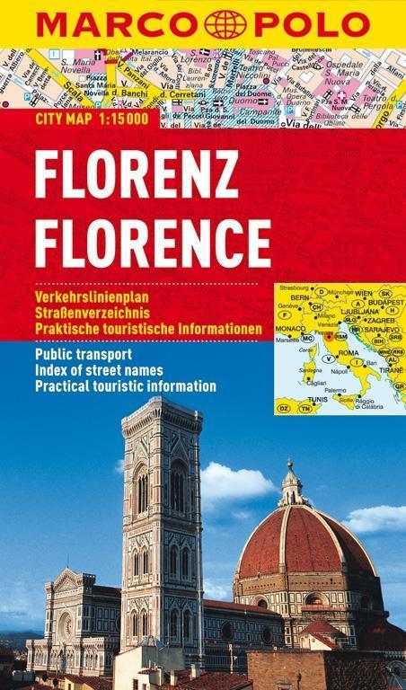 MARCO POLO Cityplan Florenz 1 : 15.000,