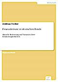 Finanzderivate in deutschen Fonds - Andreas Treiber