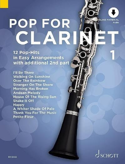 Pop For Clarinet
