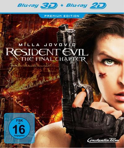 Resident Evil: The Final Chapter Premium Edition