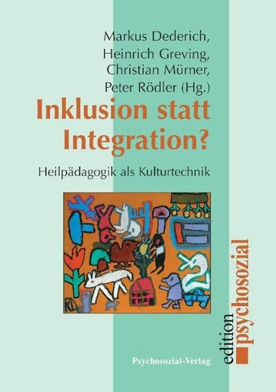 Inklusion statt Integration?