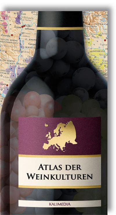 Atlas der Weinkulturen - Europa, Faltkarte