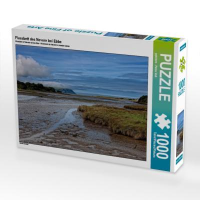 Flussbett des Nevern bei Ebbe (Puzzle)