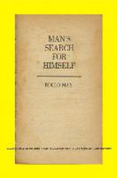 Man′s Search for Himself