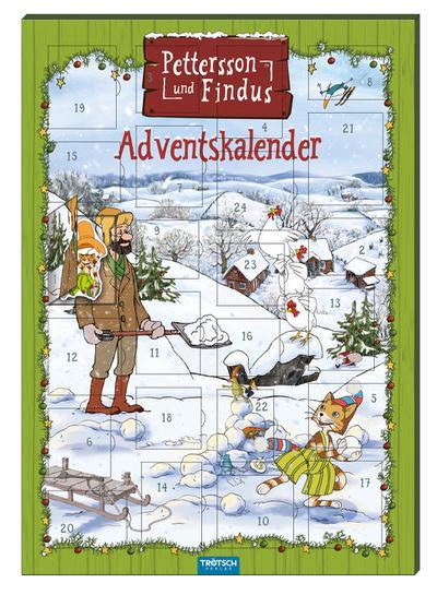 Magnet-Adventskalender 'Pettersson & Findus'