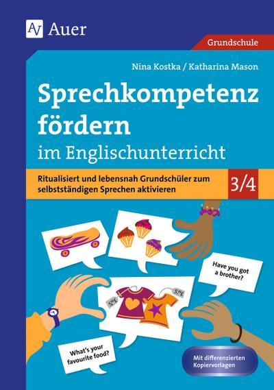 Sprechkompetenz fördern im Englischunterricht