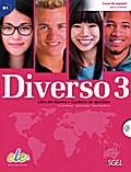 Diverso 3. Kurs- und Arbeitsbuch mit MP3-CD
