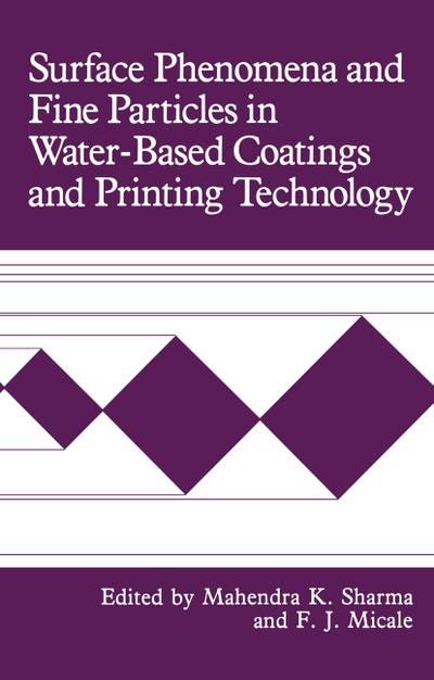 Surface Phenomena and Fine Particles in Water-Based Coatings and Printing Technology