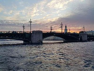 Sonnenuntergang St. Petersburg - 2.000 Teile (Puzzle)
