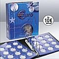 10-Euromünzen-Sammelalbum Topset, inkl. 7 Einssteckblättern für 10-Euro-Münzen