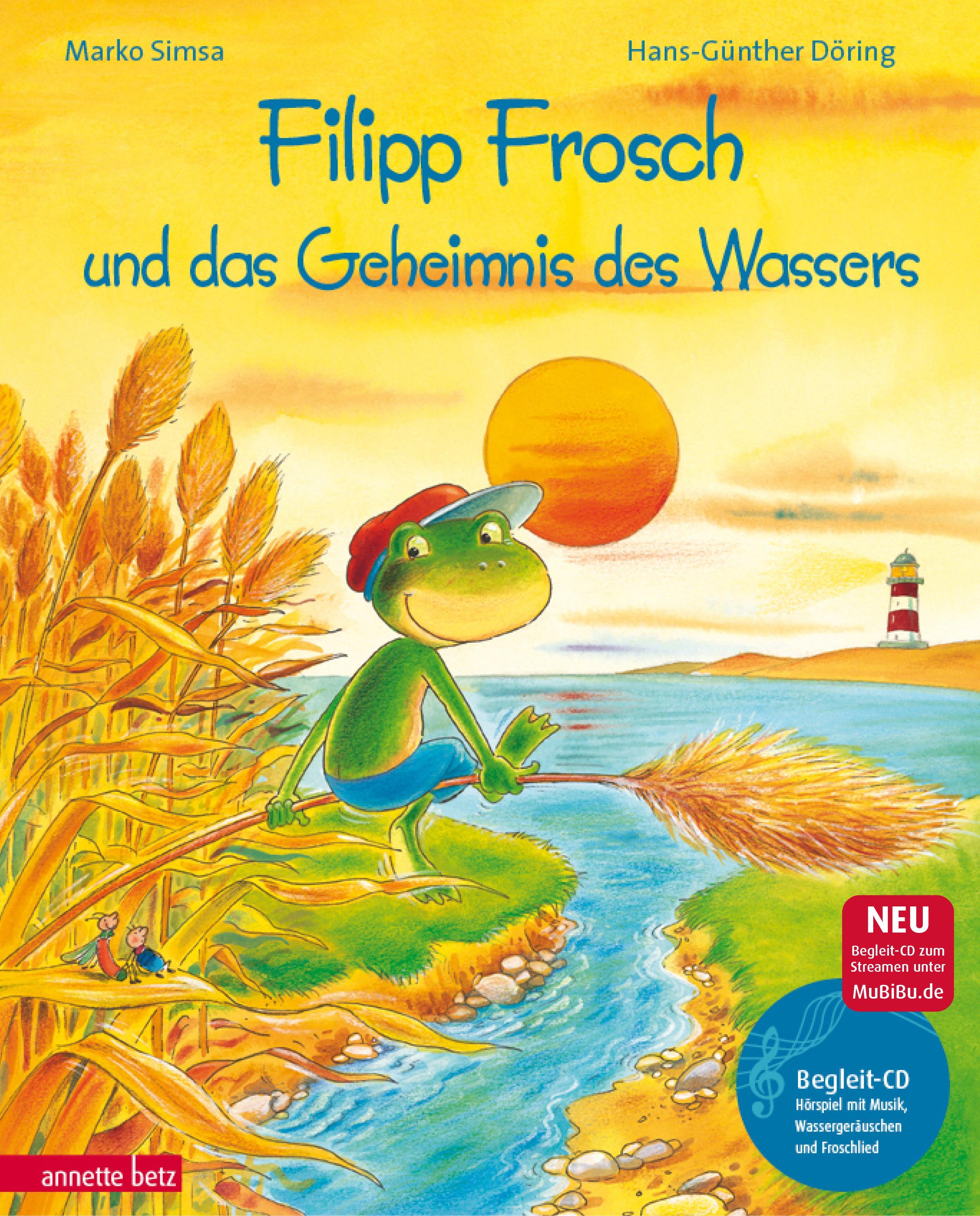 Marko Simsa , Filipp Frosch und das Geheimnis des Wassers. m ... 9783219112054
