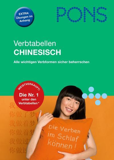 PONS Verbtabellen Chinesisch: Die richtigen Verformen sicher beherrschen von Song, Jing (2013) Broschiert