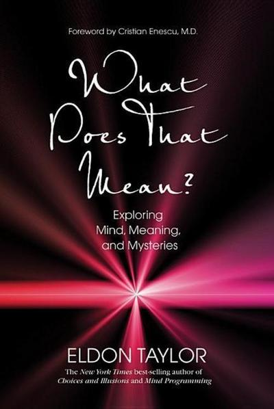 What Does That Mean?: Exploring Mind, Meaning, and Mysteries