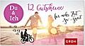 Gutscheinbuch Du & Ich - 12 Gutscheine für mehr Zeit zu zweit
