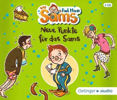 Neue Punkte für das Sams; (3 CD); Ill. v. Dulleck, Nina; Deutsch