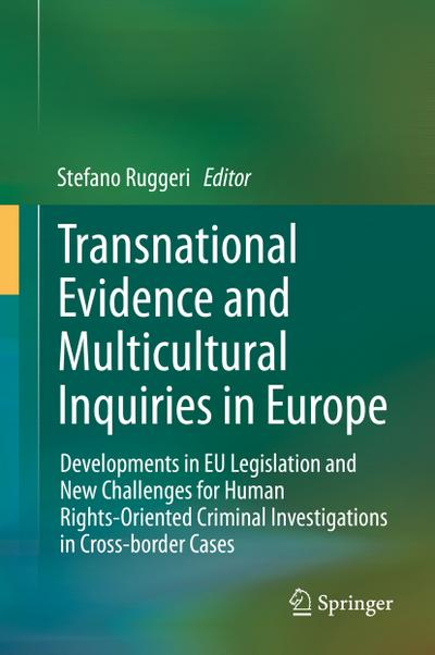 Transnational Evidence and Multicultural Inquiries in Europe