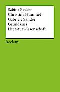 Grundkurs Literaturwissenschaft